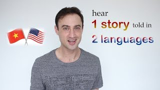 Learn English, Learn Vietnamese | Same story told twice | Mit to Teo