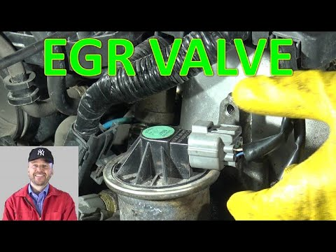 How to replace EGR valve Honda Civic. Years 1995 to 2020
