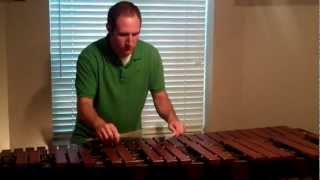 The Minute Waltz | Frederic Chopin | Marimba played by Matt Nickle