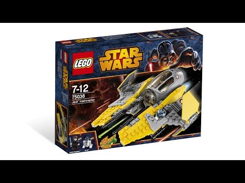 Lego 75038 Star Wars Jedi Interceptor Building Instructions