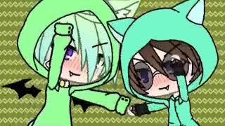 Gacha Life клип (зелёный няша крипер)