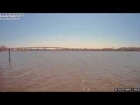 Annapolis Timelapse | 04-20-18 | Naval Academy Bridge (East)