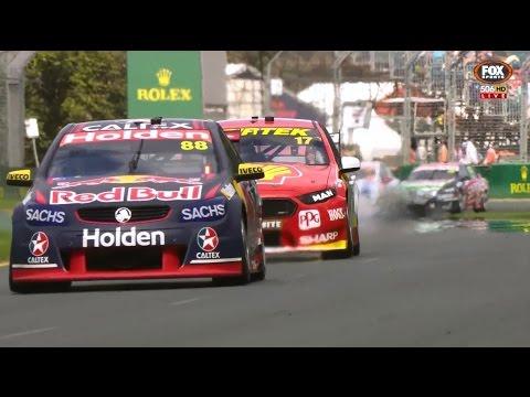 2017 Supercars - Albert Park - Race 3 [HD]