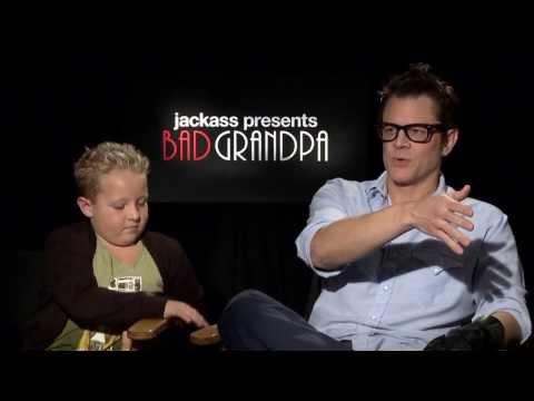Jackass Presents Bad Grandpa: Johnny Knoxville & Jackson Nicoll  Movie