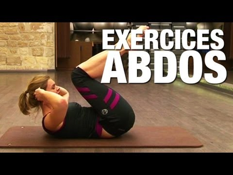 Fitness Master Class - Exercices Abdos Avec Lucile Woodward