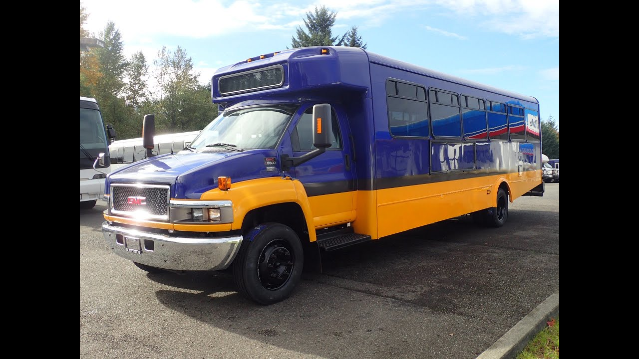 Northwest Bus Sales 2009 GMC Goshen C5500 27 Passengers ...