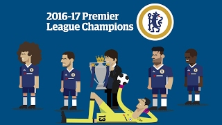 How Chelsea won the 2016-17 Premier League title