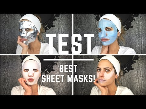 Δοκιμάζω τις καλύτερες sheet masks! (Αγαπημένες μάσκες Part1)