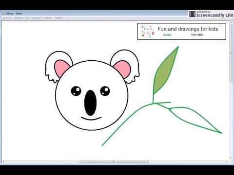Dibujar Koala Kawaii Facil Para Bebés Con Canción - YouTube