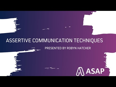 Assertive Communication Techniques