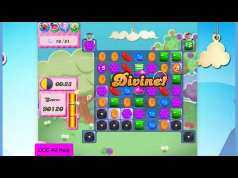 Candy Crush Saga Level 2795 NO BOOSTERS Cookie