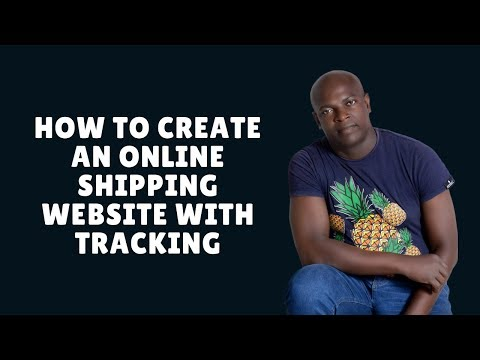 How To Create Courier Shipping Website With Courier Tracking Script
