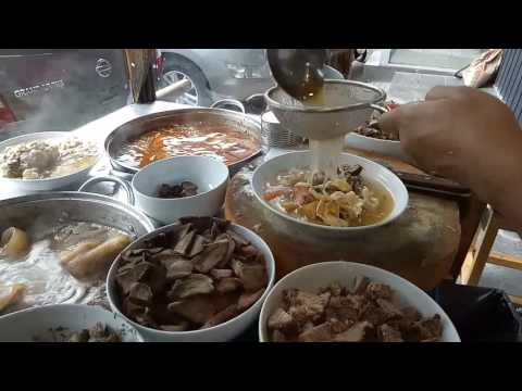 Jakarta Street Food - Traditional Indonesian Soup -  Soto Betawi Afung - Indonesia Culinary