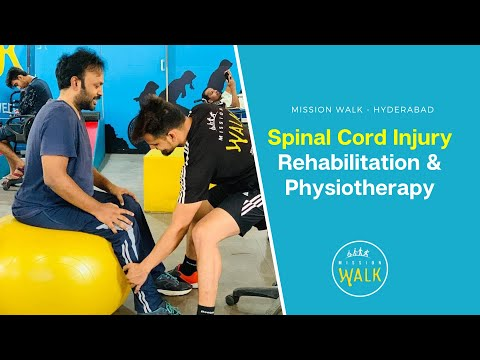 Mission Walk Spinal Cord injury Rehabilitation and paralysis Recovery center Hyderabad 9177300194