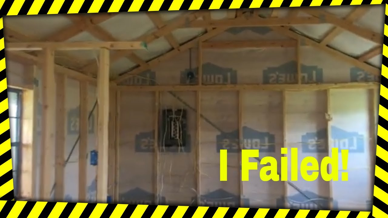 How To Fail A Rough In Electrical Inspection