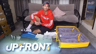 Upfront: Ricci Rivero's luggage, raided!