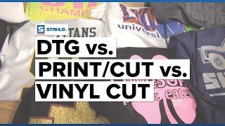Investment Advice DTG vs Print/Cut vs Vinyl Cut