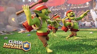 "Clash Royale Movie [FULL HD] ""The Spear Goblin's Secret Story"" 