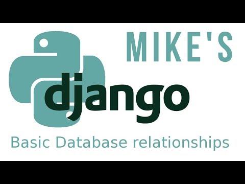 Python Django basic database relationships