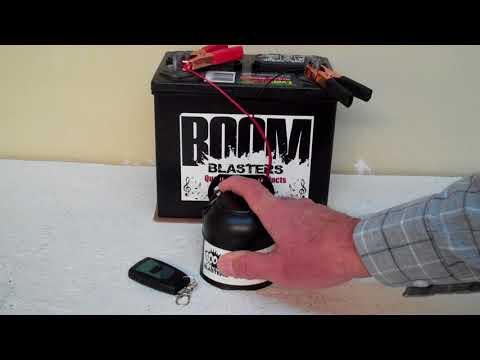 Vamos Alla Playa Musical Car Horn Wireless