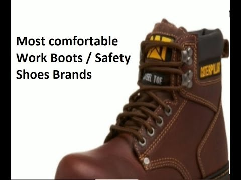 most comfortable safety shoes