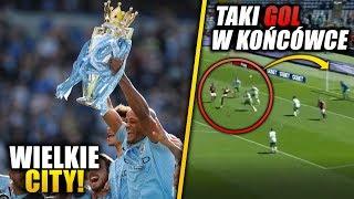 Manchester City MISTRZEM ANGLII! Piękny gol z przewrotki!