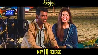 Ayogya Official Making Video | Vishal, Raashi Khanna, R.Parthiepan | Venkat Mohan