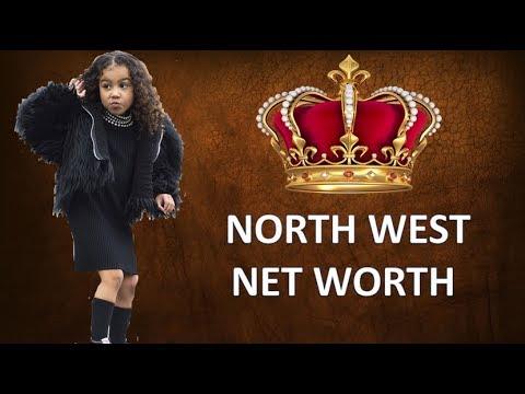 How Much is Kim Kardashian & Kanye West 's Daughter Worth 2017  ?? [North West's Net Worth 2017]