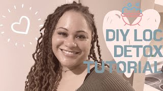 DIY ACV LOC DETOX TUTORIAL - FIRST TIME