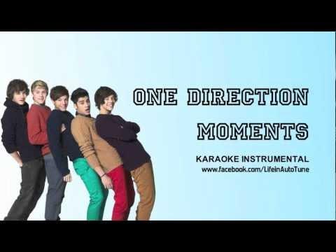 One Direction - Moments (Karaoke Instrumental) NO BACKING VOCALS
