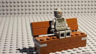 Tutorial: Lego Park Bench