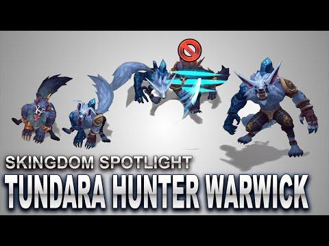 Tundra Hunter Warwick Skin Spotlight | SKingdom - League of Legends | Compare