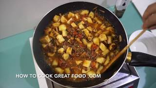 Sweet Potato Bean Vegan Chili Recipe - Chilli