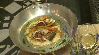 Recette : risotto aux fruits de mer - Météo à la carte