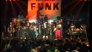 "Trouble Funk 9/28/86 London, England @ Town & Country Club - ""Ebony"" TV Show 1986"
