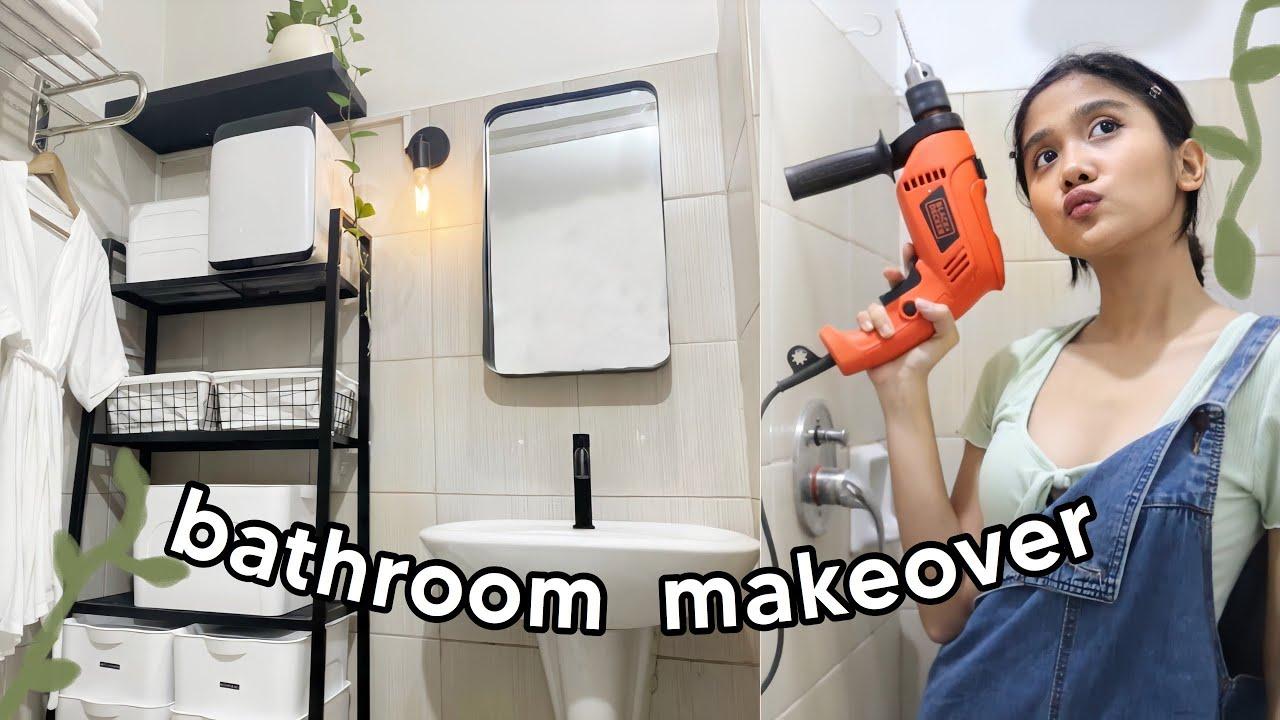 BATHROOM MAKEOVER (Budget & Renter-Friendly!)