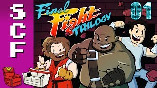Final Fight Trilogy - Part 1! Super Couch Fighters: Arcade Mode!