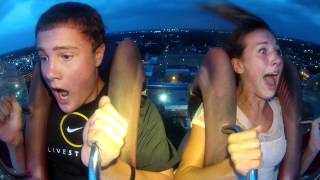 Myrtle Beach Slingshot: HD FUNNIEST REACTION EVER!