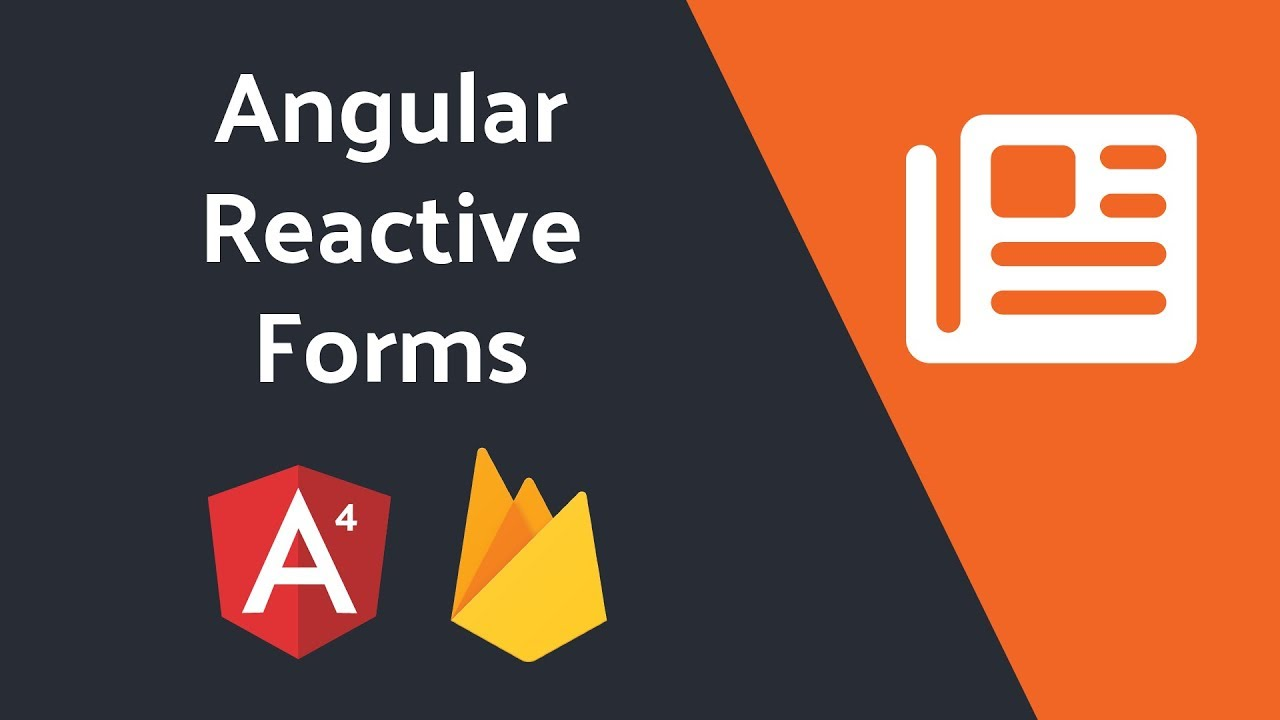 Reactive Forms in Angular With the Firebase Database