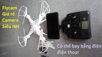 Máy bay điều khiển từ xa flycam X5c-1 bản 2 X5SW camera HD giá rẻ
