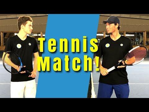 TENNIS MATCH: Sven vs. Max