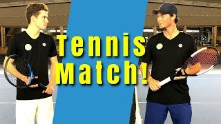 TENNIS MATCH: Sven vs. Max