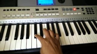 Yeh raat bheegi bheegi Piano Tutorial
