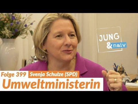 Bundesumweltministerin Svenja Schulze (SPD) - Jung & Naiv: Folge 399