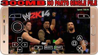WWE 2K14 PPSSPP DOWNLOAD LINK