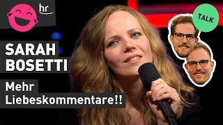 """Sarah Bosetti: """"Man sollte viel mehr zurückgeben!"""""""