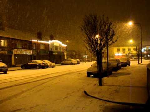 Snow in Rialto, Dublin 31.12.09