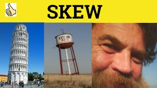 Skew-Whiff - Vocabulary Builder 3 - ESL British English Pronunciation