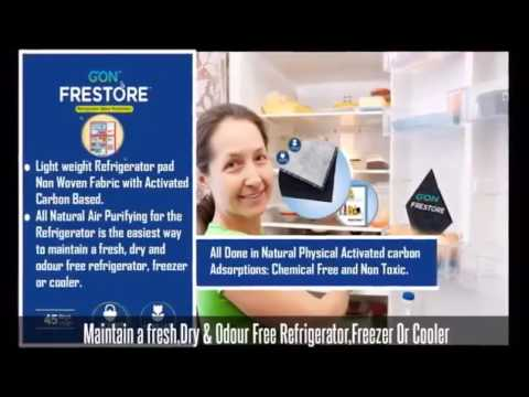 How To Remove Bad Odor From Fridge Refrigerator   Absorb   Eliminate   Smell   get rid of   Clean
