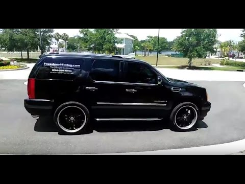 "Cadillac Escalade with 24"" RIMS  Jacksonville Florida Looking to Upgrade to 26s 